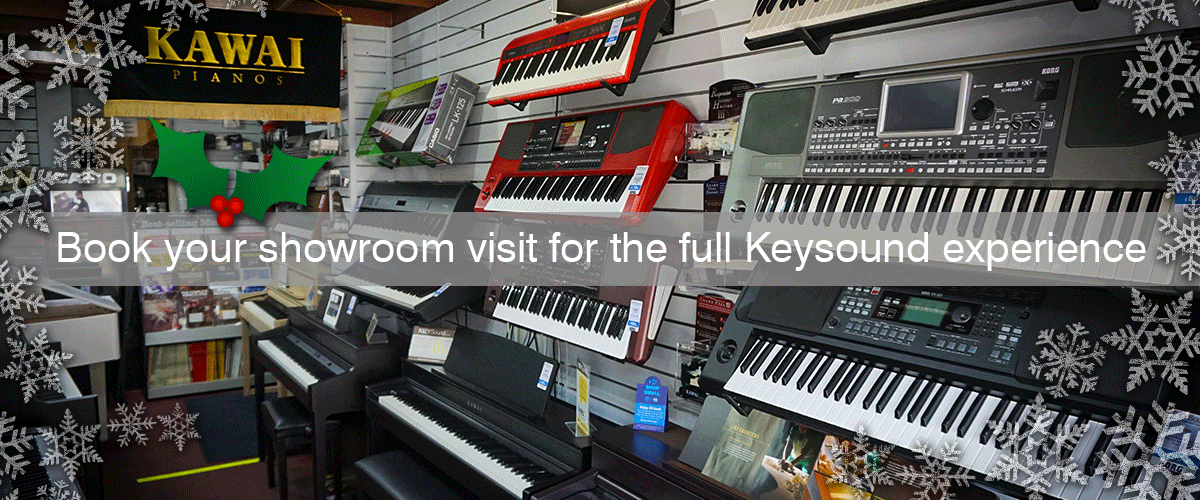 If you're after buying a digital piano or keyboard, then choose keysound, the only music shop in Leicester that has all the major bands for you try under one roof.