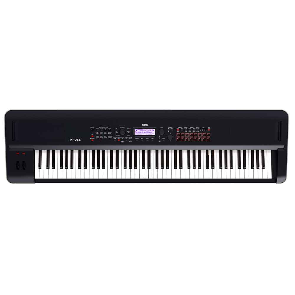 Korg Kross2 88 Synthesizer Workstation in Black
