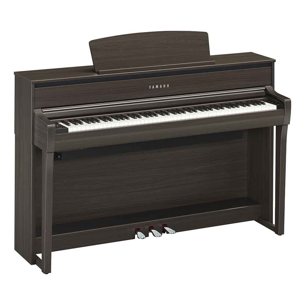 Yamaha CLP675 Digital Piano in Dark Walnut