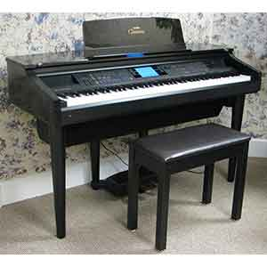 Yamaha Pre-Owned CVP107 Digital Piano in Rosewood