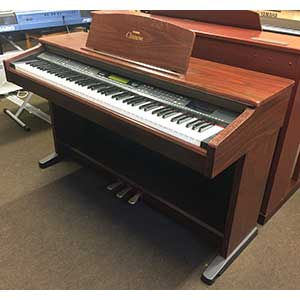 Yamaha Pre-Owned CVP103 Digital Piano in Mahogany