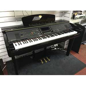 Yamaha Pre-Owned CVP309PE Digital Piano in Polished Black