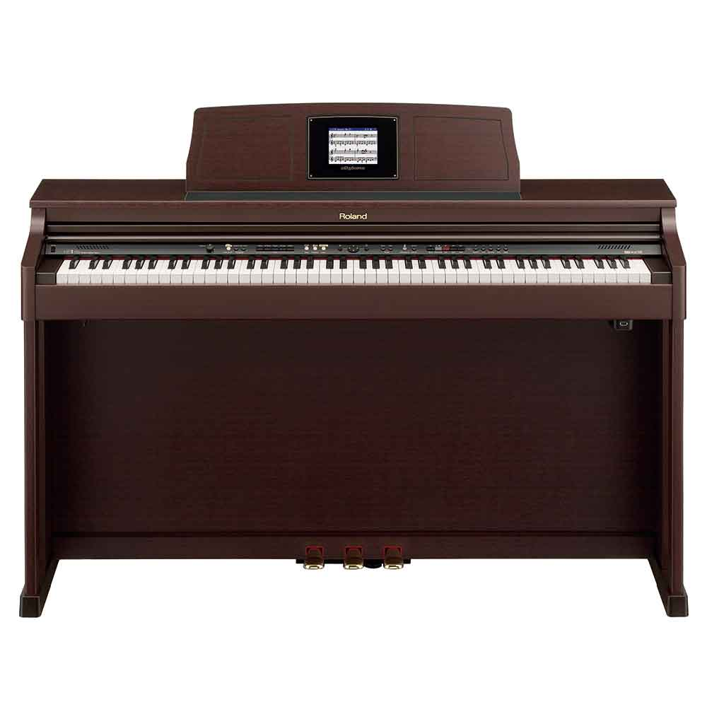 Roland Pre-Owned HPi6S Digital Piano in Mahogany