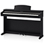 Kawai KDP110 Digital Piano in Satin Black