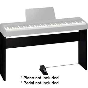 Roland KSC68CB Stand for the Roland F20 Digital Piano in Contemporary Black