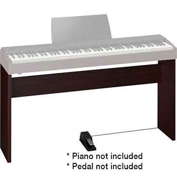 Roland KSC68DW Stand for the Roland F20 Digital Piano in Dark Walnut