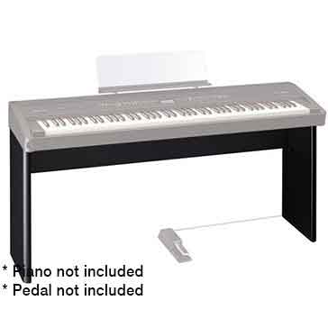 Roland KSC76BK Stand for the Roland FP80 Digital Piano in Black