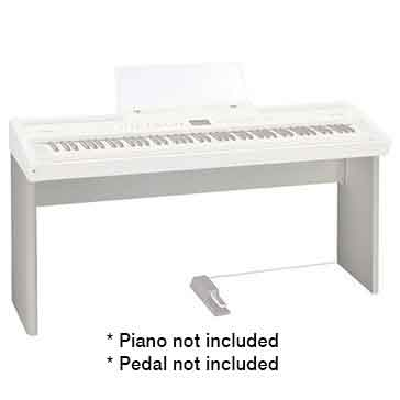 Roland KSC76WH Stand for the Roland FP80 Digital Piano in White