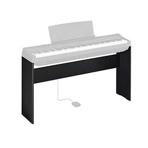 Yamaha L125 Stand for the Yamaha P125 Digital Piano in Black