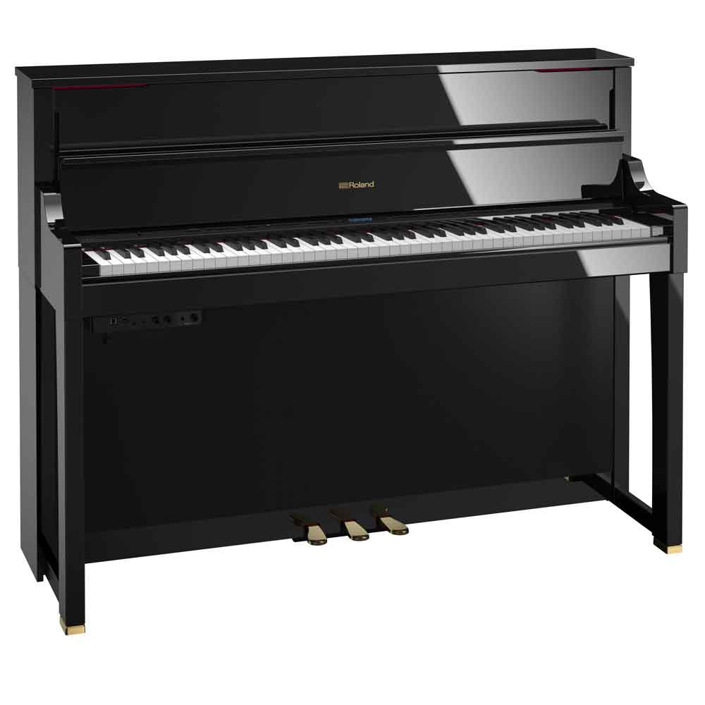 Roland LX17 Digital Piano in Polished Ebony