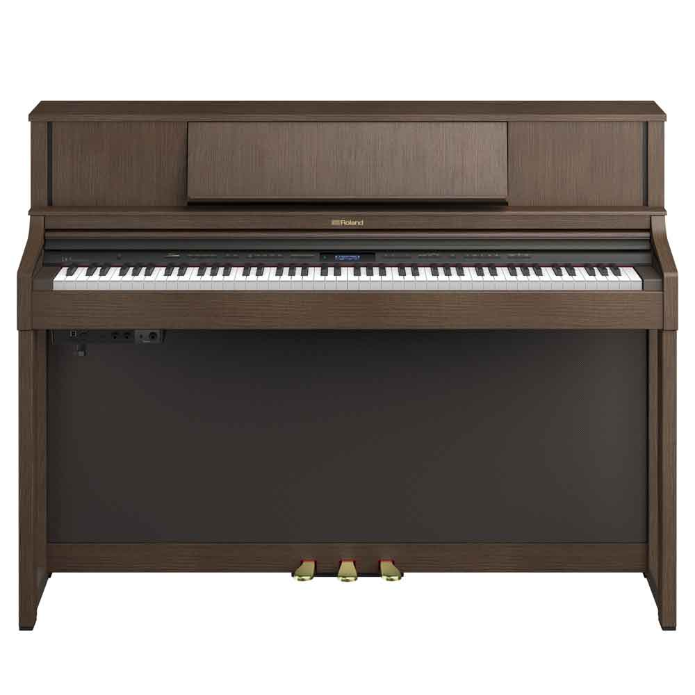 Roland Pre-Owned LX7 Digital Piano in Brown Walnut