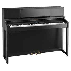 Where can I see the latest range of Roland pianos