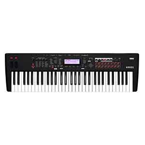 Korg Kross2 61 Synthesizer Workstation in Matt Black