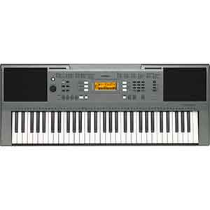 Yamaha PSRE353 Keyboard in Silver