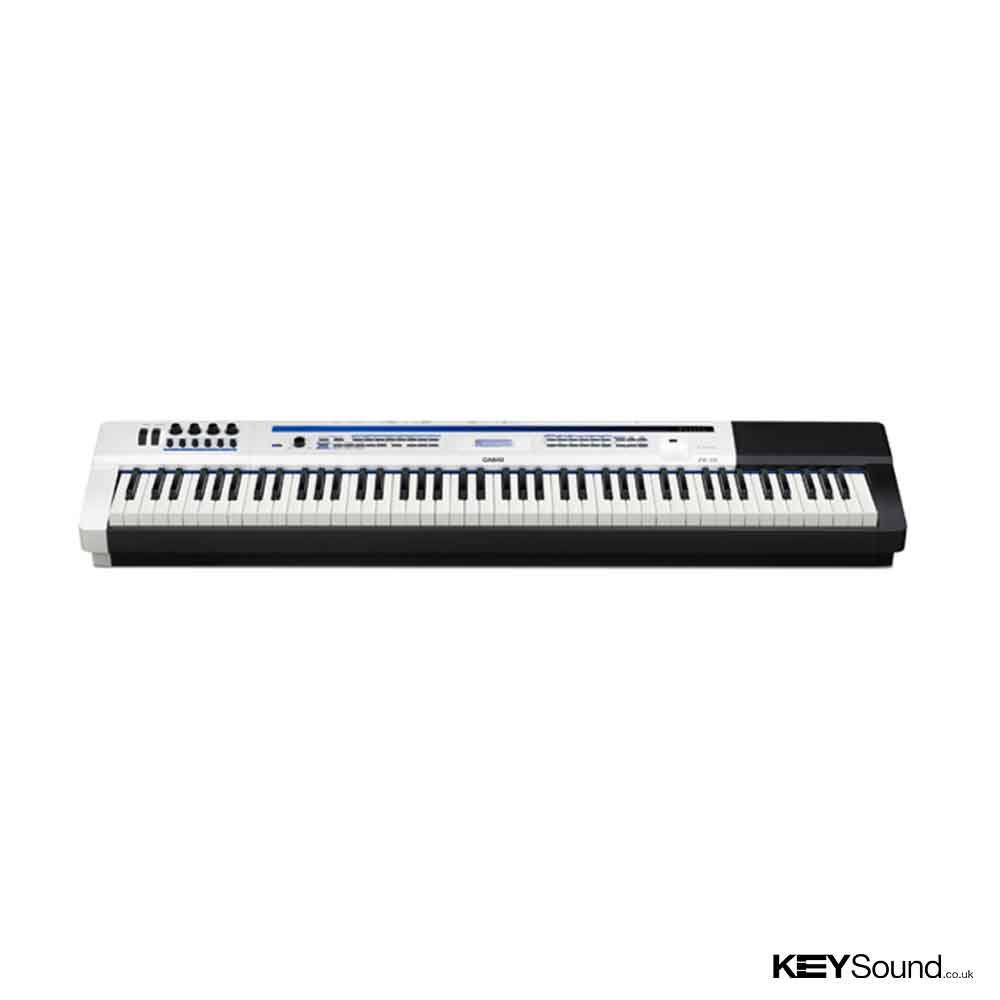 Casio PX5SWE Digital Piano in Black and White