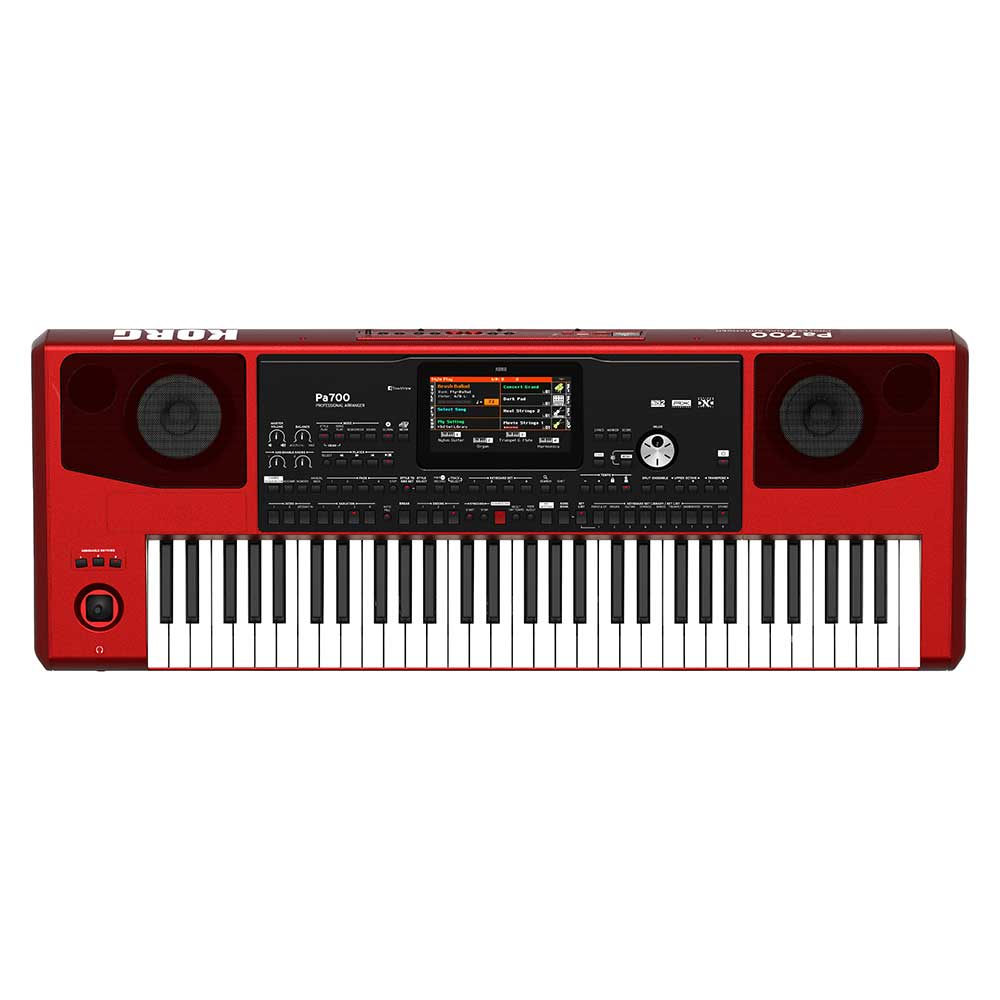 Korg PA700 Professional Arranger in Red