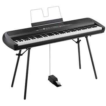 On Display At Keysound Large Selection of Stage Portable Pianos