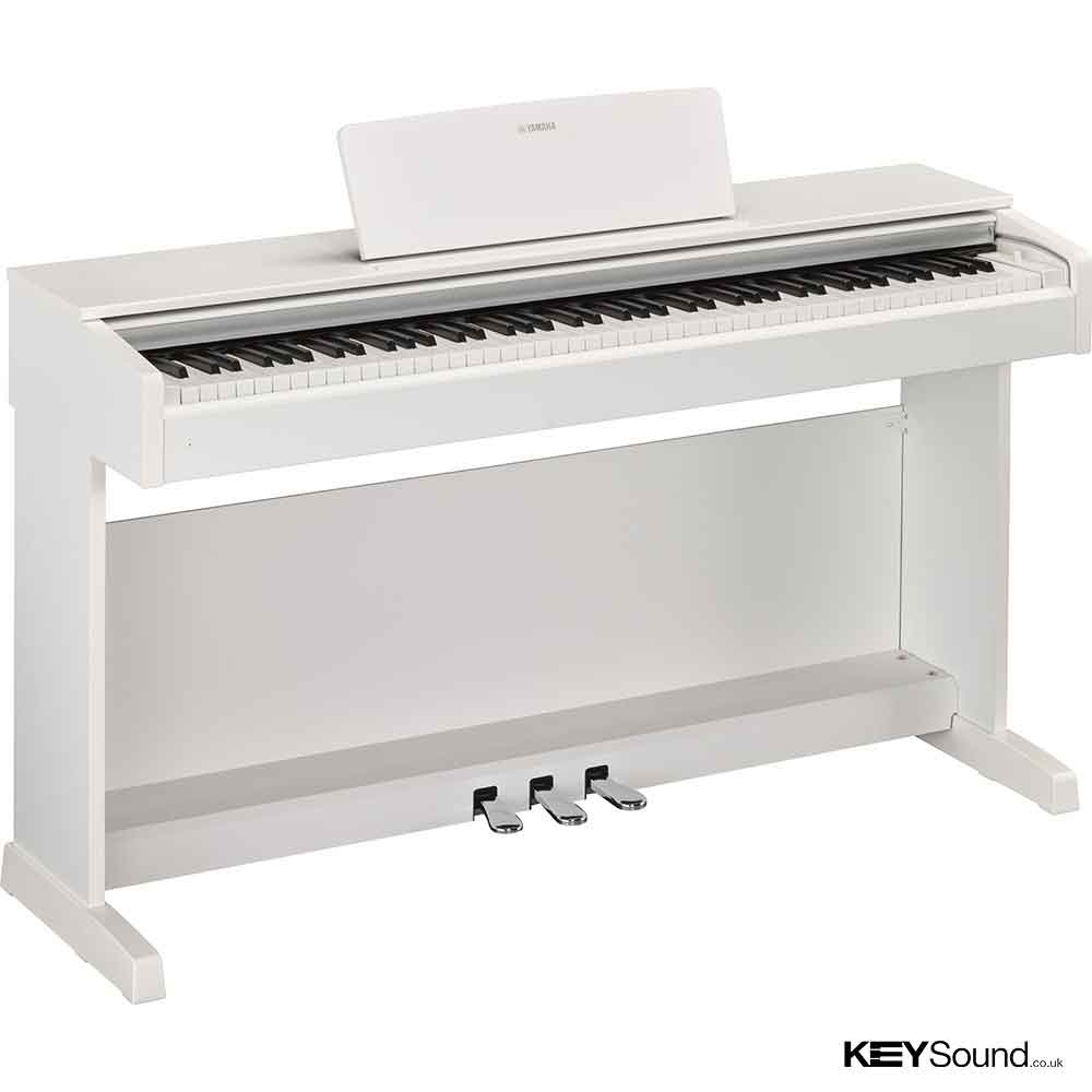 Yamaha YDP143 Digital Piano in White