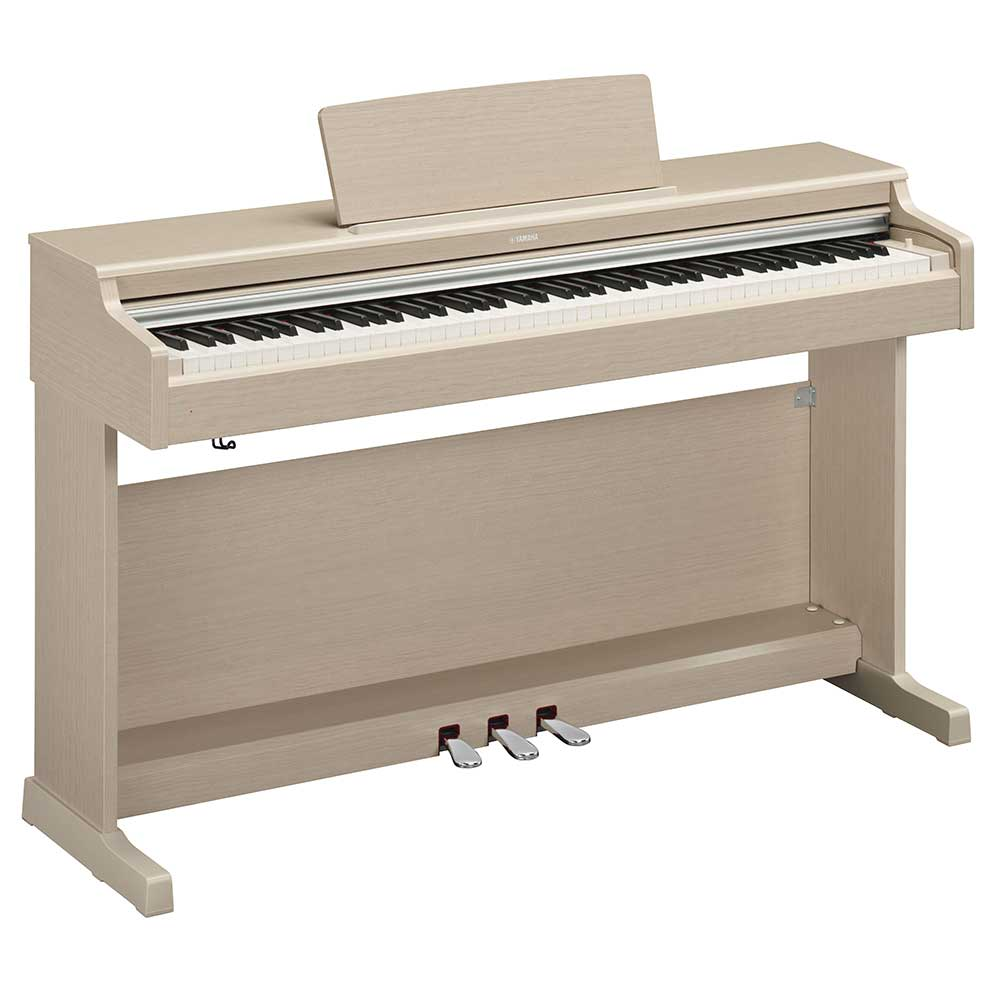 Yamaha YDP164 Digital Piano in White Ash
