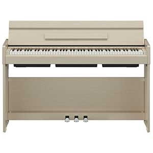 Yamaha YDPS34 Digital Piano in White Ash