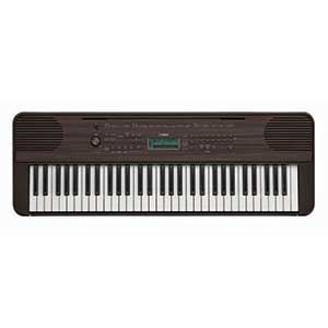 Yamaha PSRE360 Keyboard in Dark Walnut