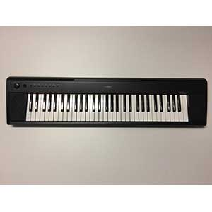 Yamaha Pre-Owned NP11 Piano-Style Keyboard in Black