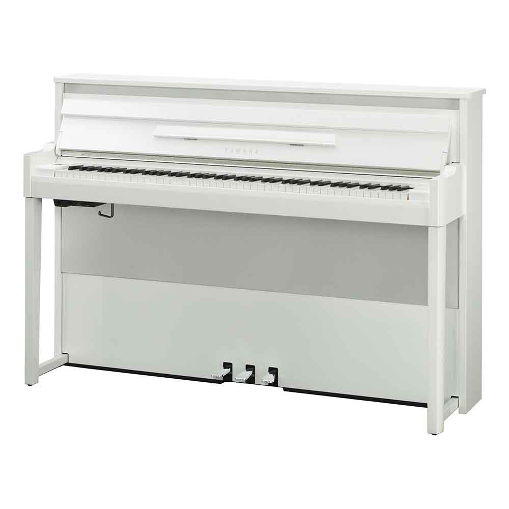 Yamaha NU1X Digital Piano in Polished White