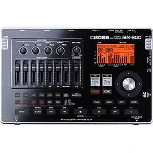 Boss BR800 Digital Recorder in Black