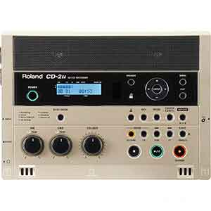 Roland CD2U SD and CD Recorder in Silver