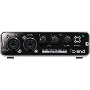 Roland Duo-Capture EX USB Audio Interface in Black