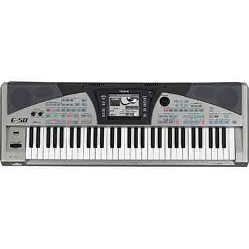 Roland Pre-Owned E50 Arranger Keyboard in Silver