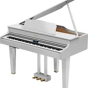 The All New Roland GP607 Mini Grand Digital Piano