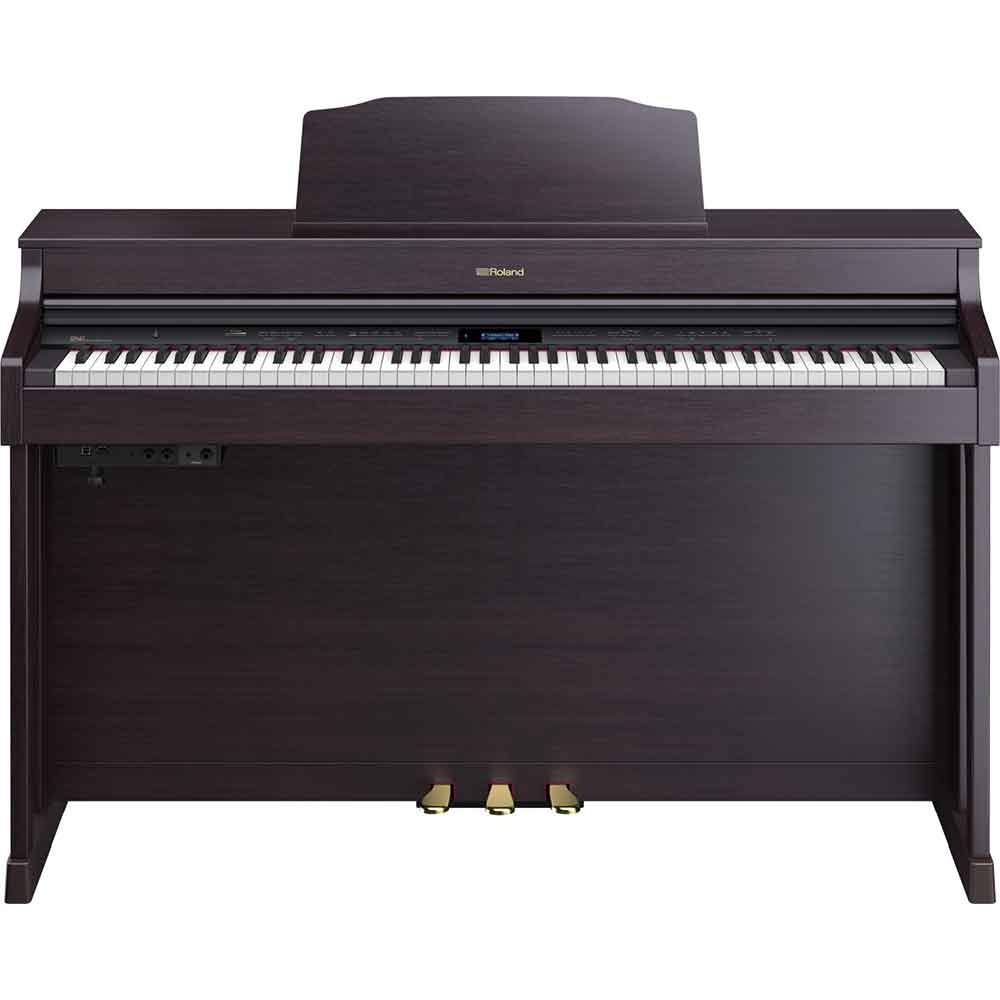 Roland HP603A Digital Piano in Comtemporary Black