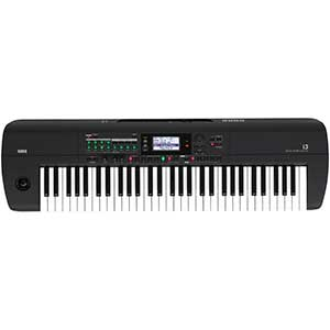 Korg i3 Music Workstation  in Matt Black