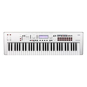 Korg Kross2 61 Synthesizer Workstation in White