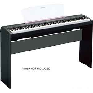Yamaha L85 Stand for the Yamaha P45 and P115 Digital Pianos in Black