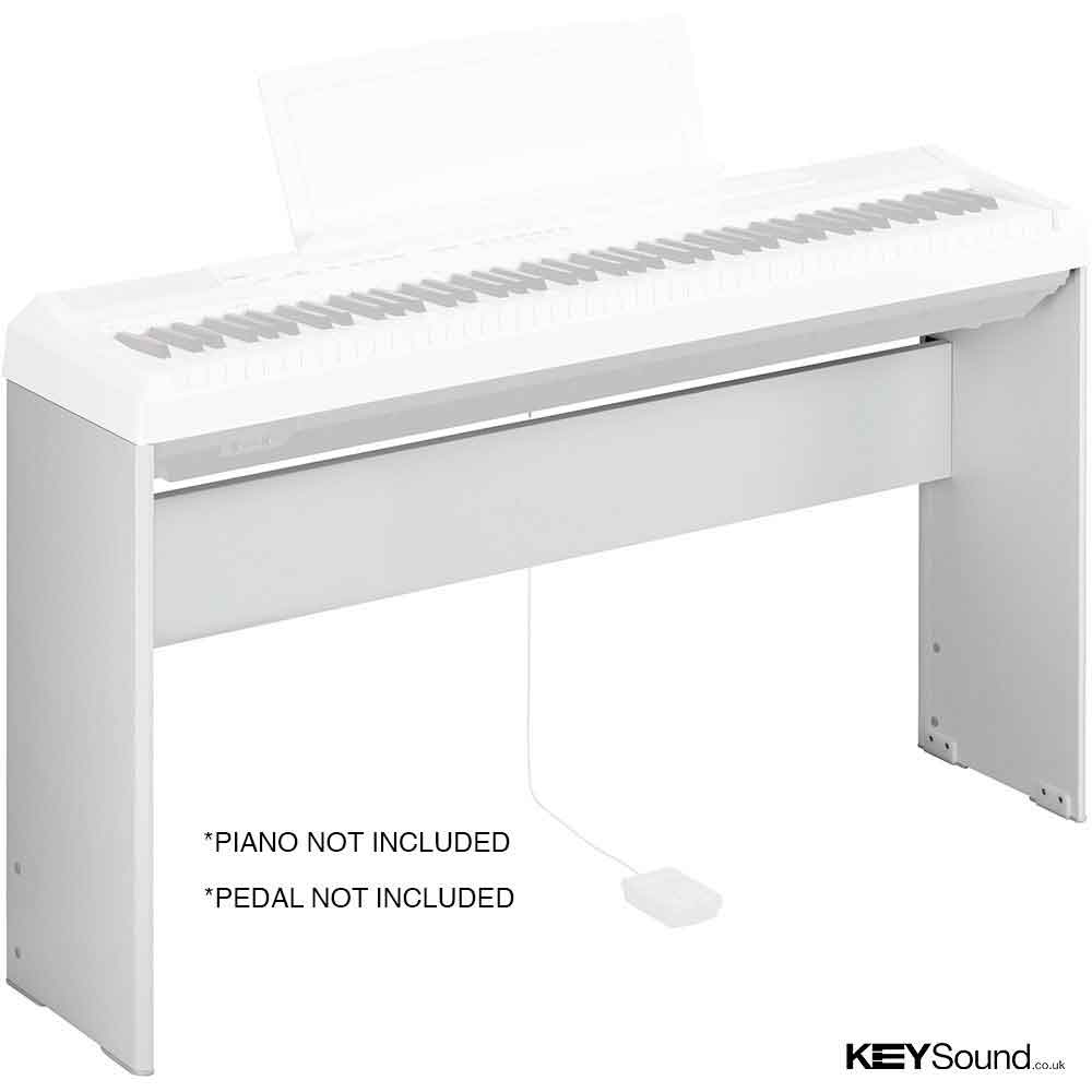 Yamaha L85 Stand for the Yamaha P115 Digital Pianos in White