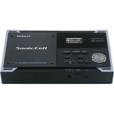 Roland SonicCell Expandable Synthesizer Module with Audio Interface in Black