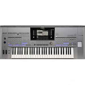 Yamaha Pre-Owned Tyros5 61 Keys Arranger Workstation includes MS05 Speakers in Silver