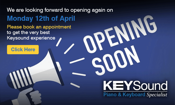 Book an appointment to get the very best keysound experience